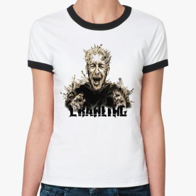 Женская футболка Ringer-T Linkin Park