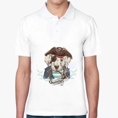 Рубашка поло Пиратская собака