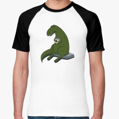 Футболка реглан  Тираннозавр-соня