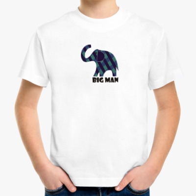 Детская футболка слонёнок БИГ