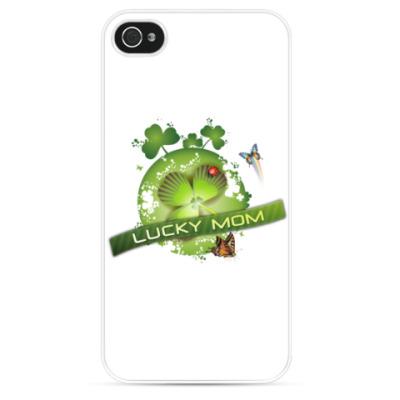 Чехол для iPhone Lucky mom