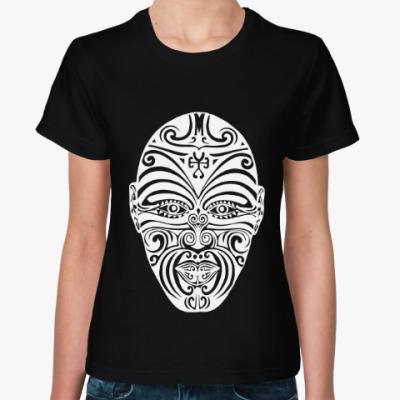 Женская футболка Маори