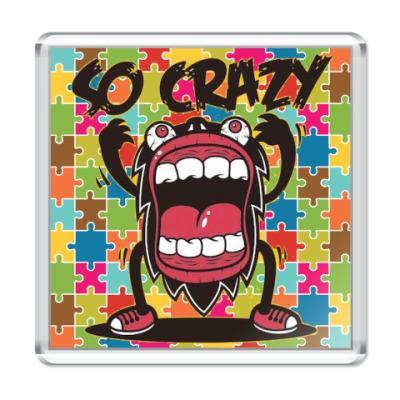 Магнит Crazy Monster
