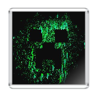 Магнит Minecraft Creeper