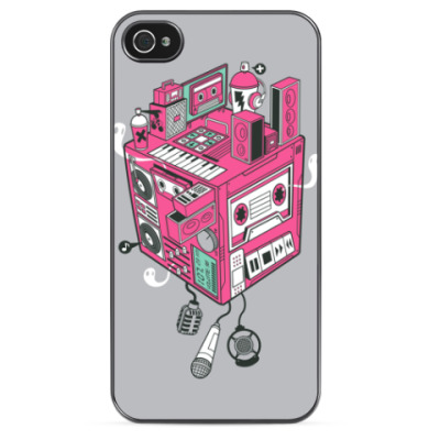 Чехол для iPhone It's all of music