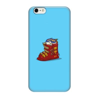 Чехол для iPhone 6/6s Лыжекот — Пятничный Котик №41