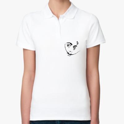 Женская рубашка поло Сальвадор Дали
