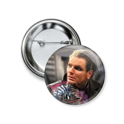 Значок 37мм TNA Jeff Hardy
