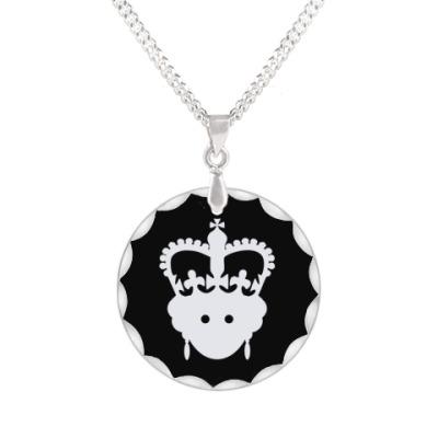 Кулон  Королева Елизавета II