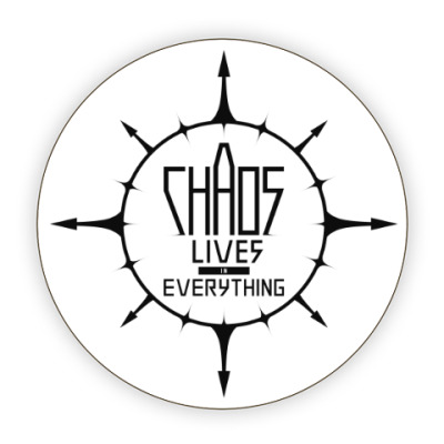 Chaos lives in everything