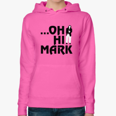 Женская толстовка худи The Room — Oh Hi Mark