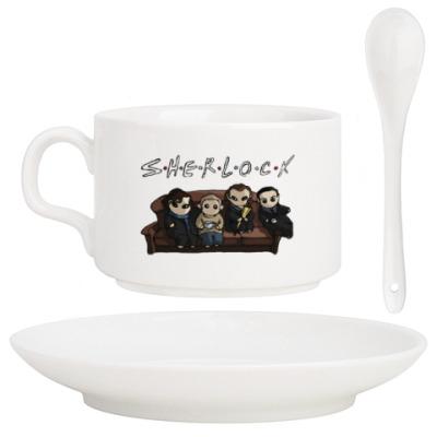 Кофейный набор Sherlock