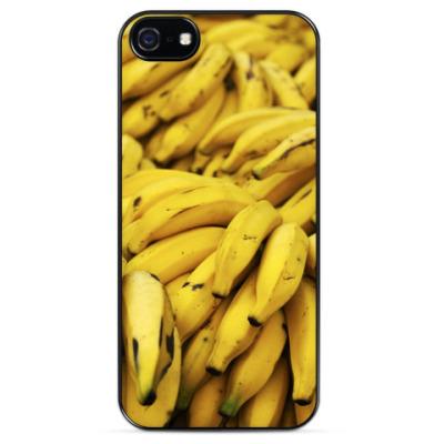 Чехол для iPhone Бананы / Bananas