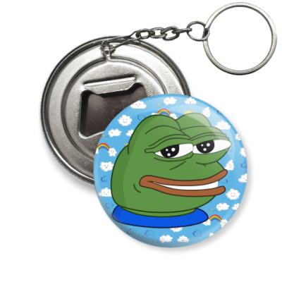 Брелок-открывашка Smile Pepe