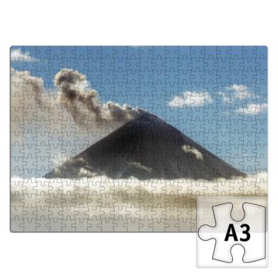 Пазл Камчатка, Ключевской вулкан
