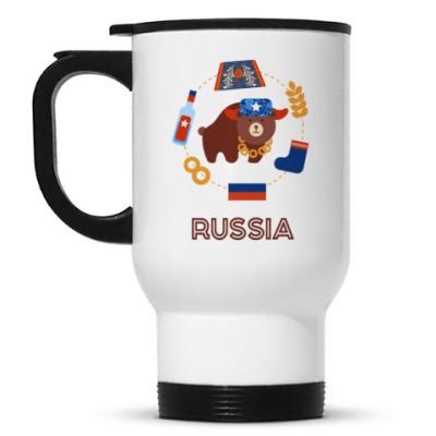 Кружка-термос Russia, Россия