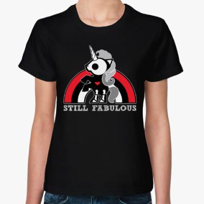 Женская футболка Бонита Единорог