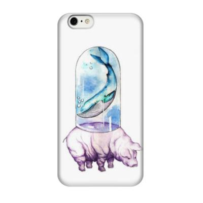 Чехол для iPhone 6/6s Whale&pig