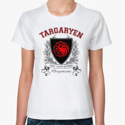 Классическая футболка House Targaryen