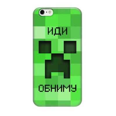 Чехол для iPhone 6/6s Иди Обниму Minecraft Creeper