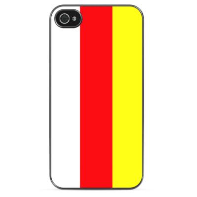 Чехол для iPhone Флаг Северной Осетии