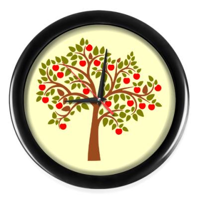 Настенные часы Яблоня