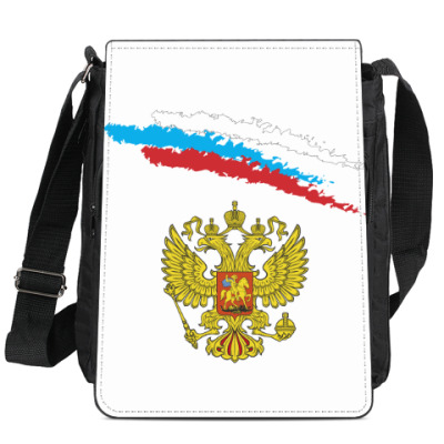Сумка-планшет Герб и флаг России