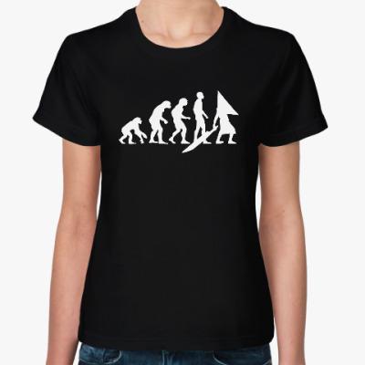 Женская футболка Pyramid Head Evolution