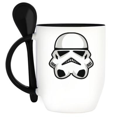 Кружка с ложкой Star Wars: Штурмовик