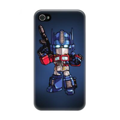 Чехол для iPhone 4/4s Optimus Prime