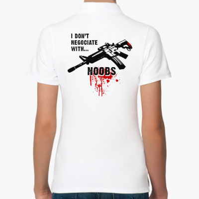 Женская рубашка поло Counter-Strike
