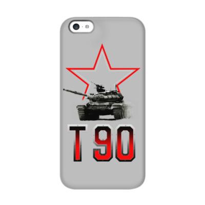 Чехол для iPhone 5c Танк Т-90