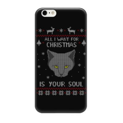 Чехол для iPhone 6/6s AlI I want is your soul