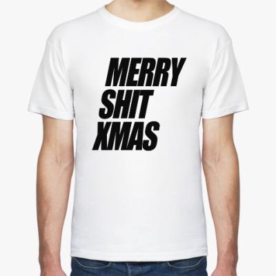 Футболка Merry Shit Xmas