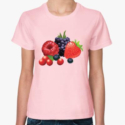 Женская футболка Ягоды