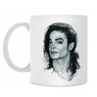 Кружка Майкл Джексон (двухсторон)