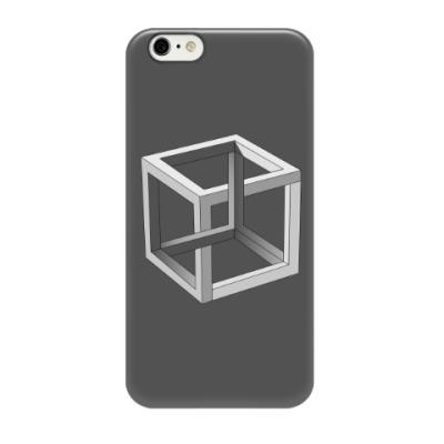 Чехол для iPhone 6/6s Невозможный Куб 3D