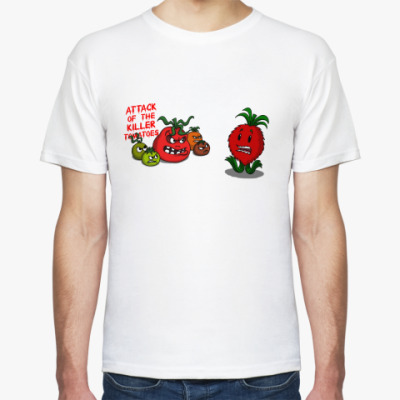 Футболка attack of the killer tomatoes