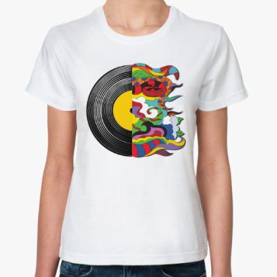 Классическая футболка Мир музыки