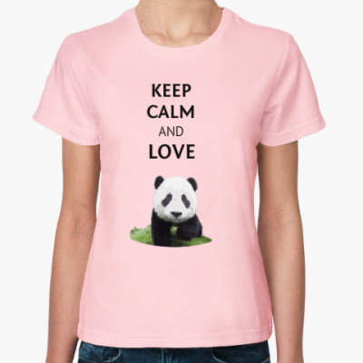 Keep calm and love panda