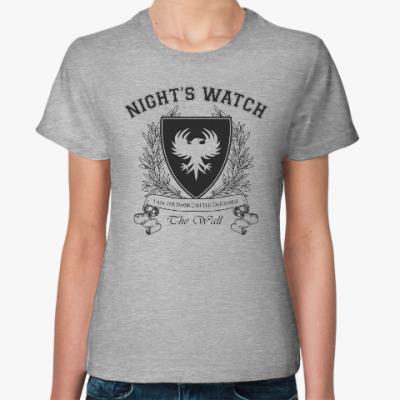 Женская футболка Night's Watch