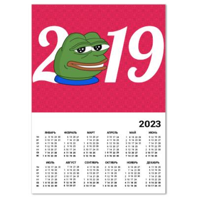 Календарь Pepe 2019