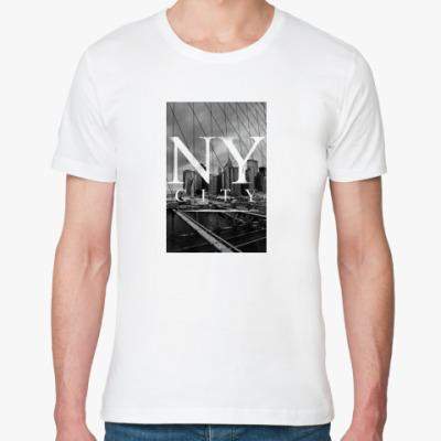 Футболка из органик-хлопка NY city