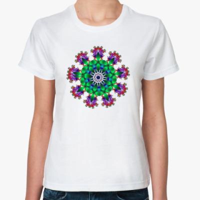 Классическая футболка Калейдоскоп