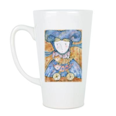 Чашка Латте Волшебница Котов