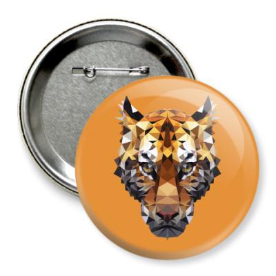 Значок 75мм Тигр / Tiger