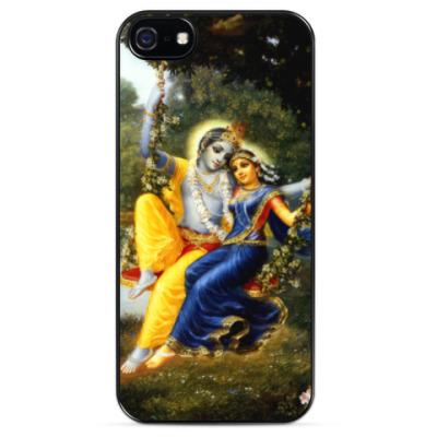 Чехол для iPhone Кришна и Радха