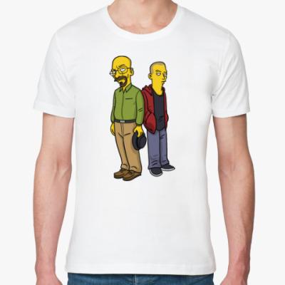 Футболка из органик-хлопка Breaking Bad Simpsons
