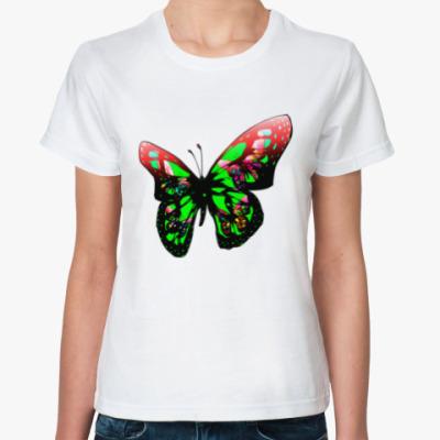 Классическая футболка Бабочка