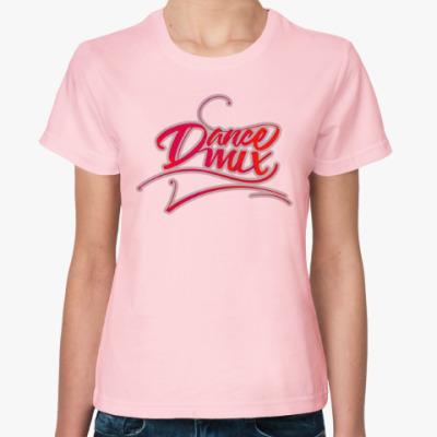 Женская футболка Dance Mix